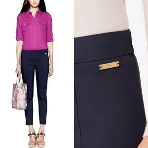 Tory Burch Callie Skinny Pant in Blue